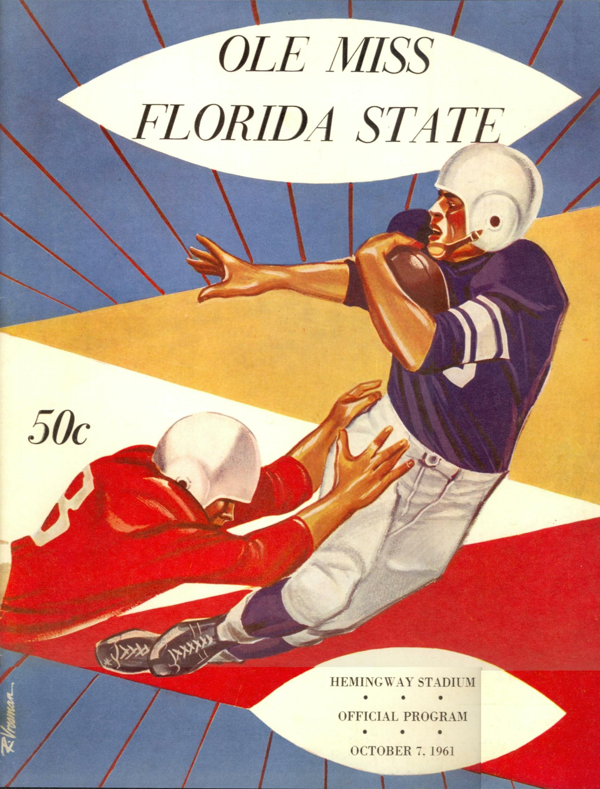 1cb7404e903c Florida State Football - 1961 Year In Review