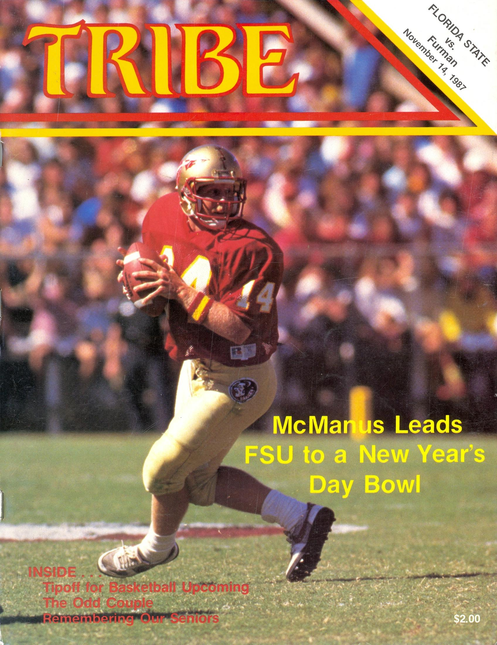 Florida State Football - 1987 Year In Review e4e2c4350