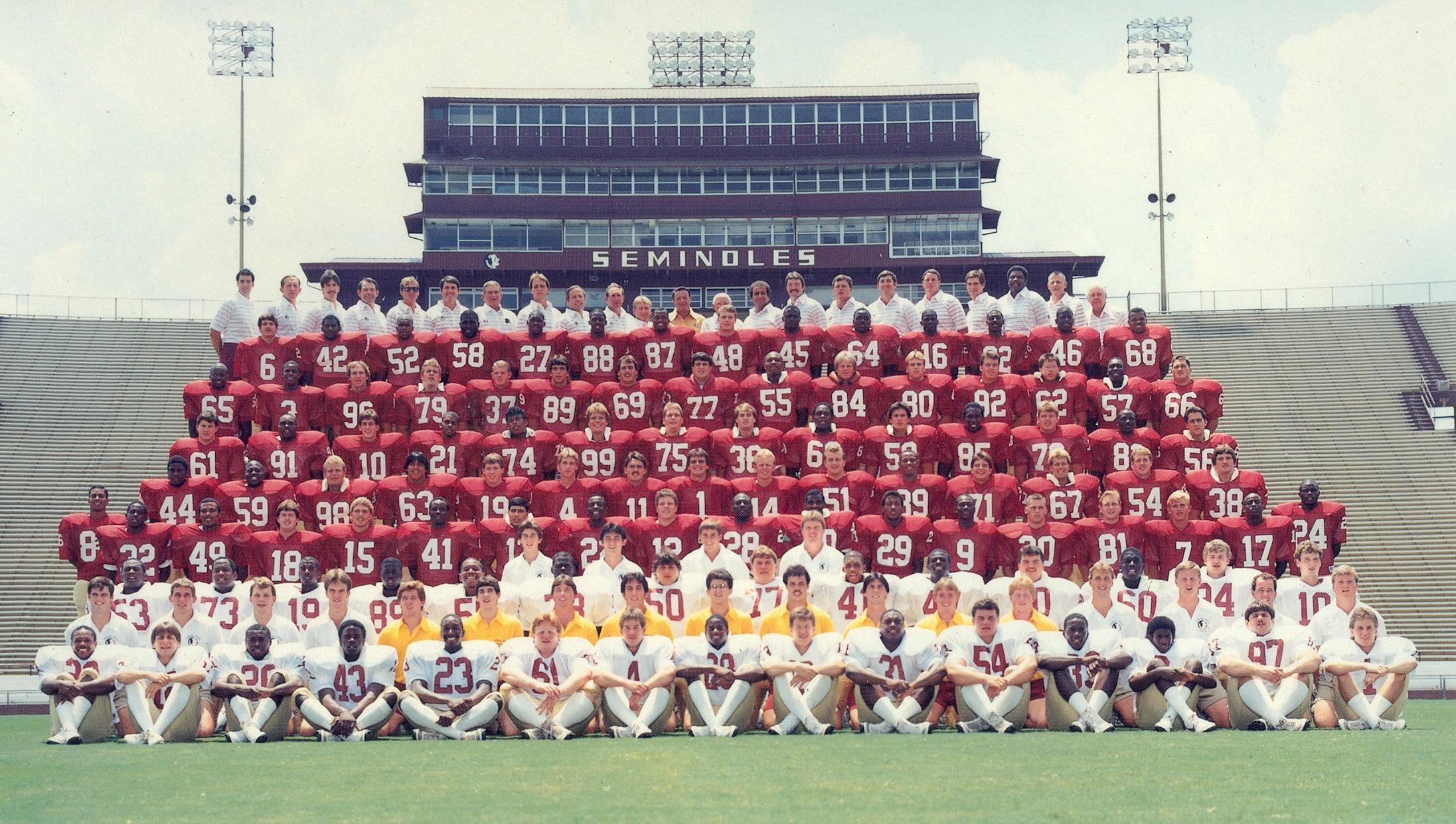 Florida State Football - 1985 Year In Review 68021673a